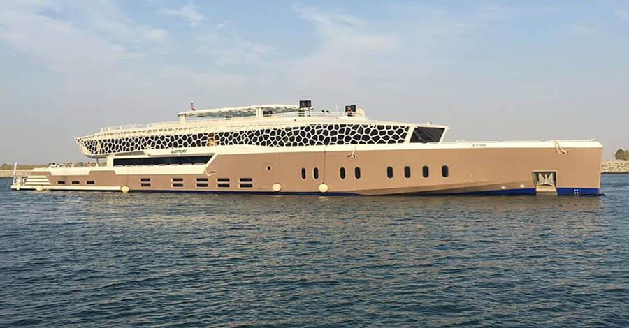 Lotus mega yachts