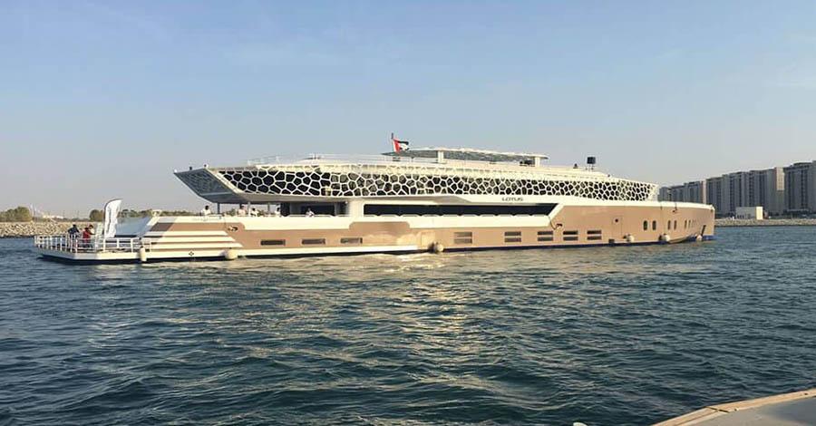 Lotus mega yachts Dubai